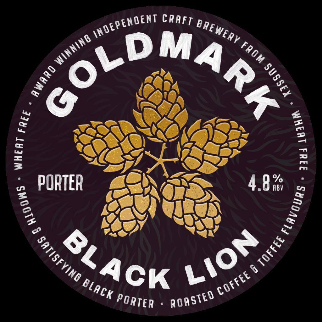 Goldmark Black Lion Porter 4.8%