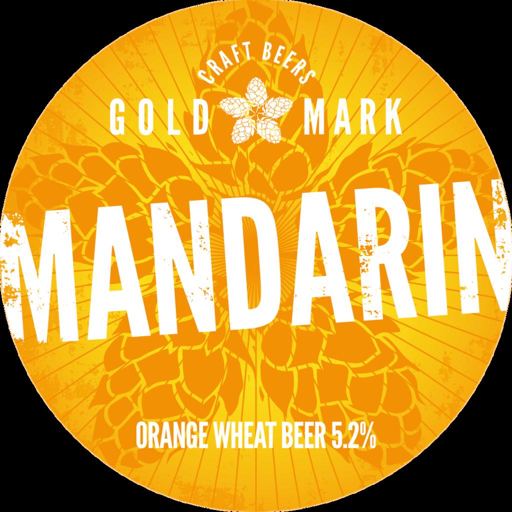 Goldmark Mandarin Orange Wheat Beer