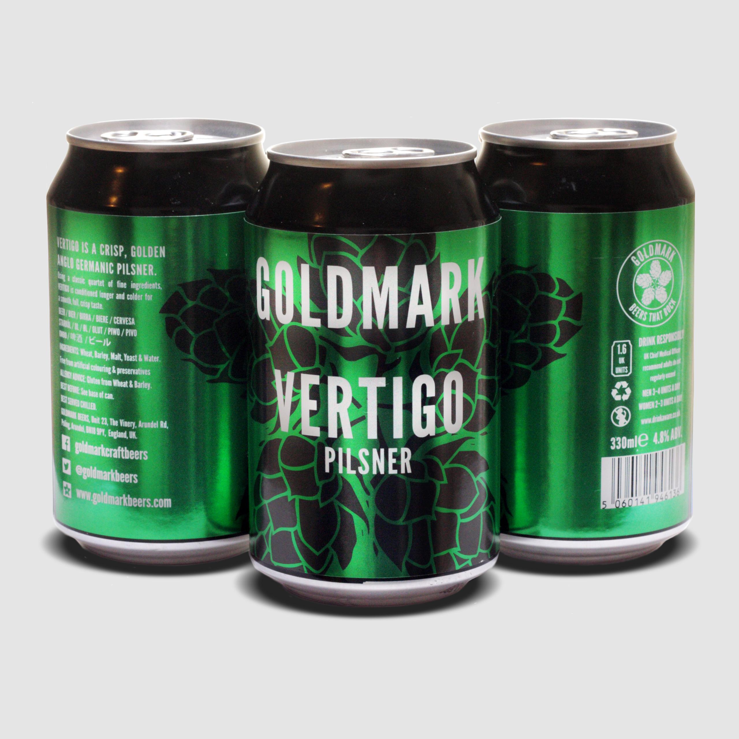 Vertigo Pilsner 2.8%