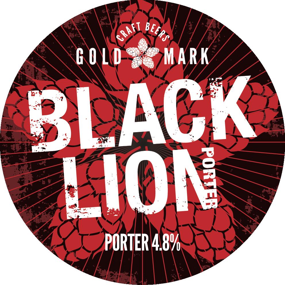 Black Lion, Porter, Goldmark Craft Beers