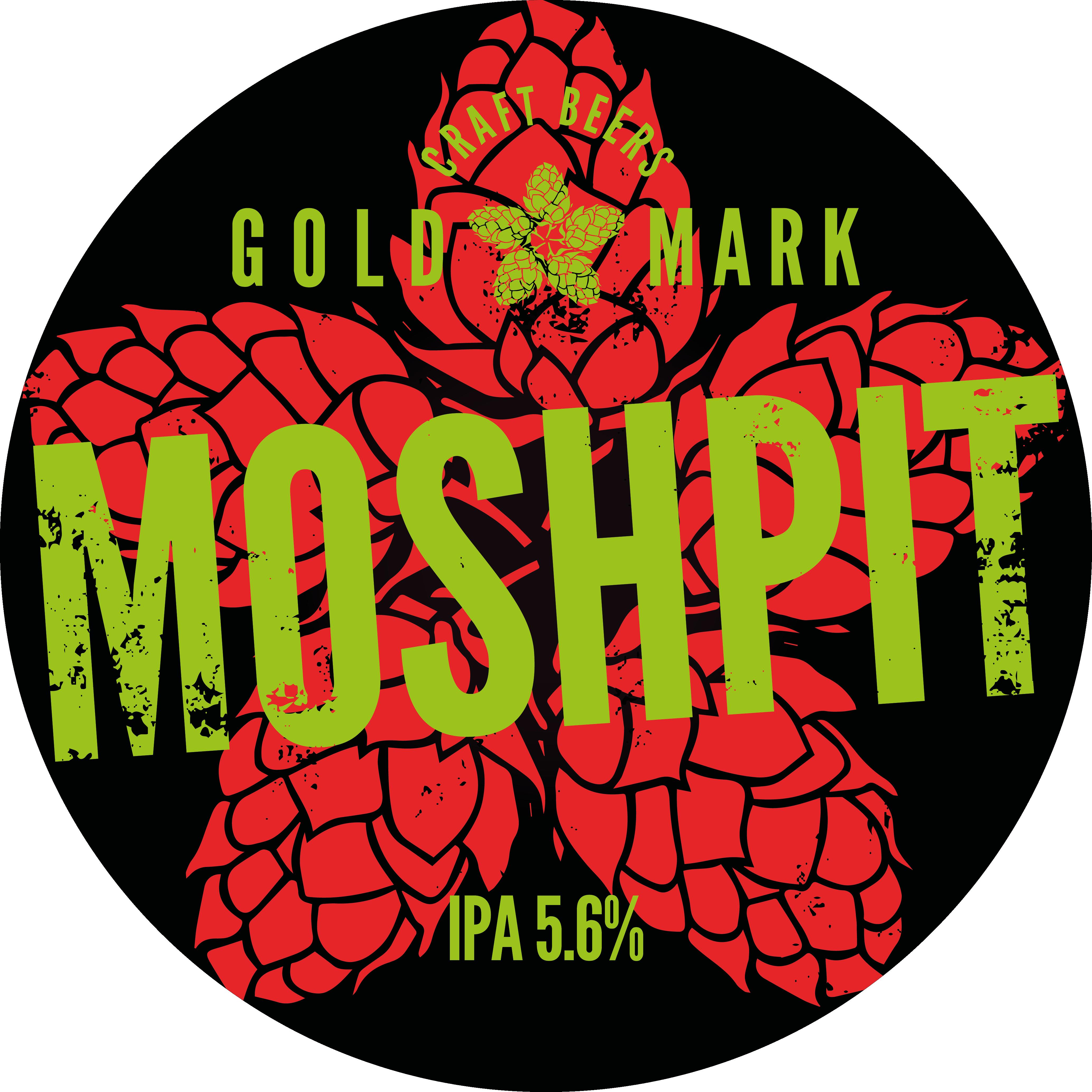 Moshpit IPA Goldmark Craft Beers