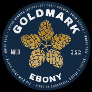 Goldmark Ebony Mild Ale 3.5%