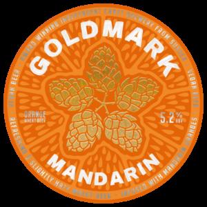 Goldmark Mandarian Wheat Beer 5.2%