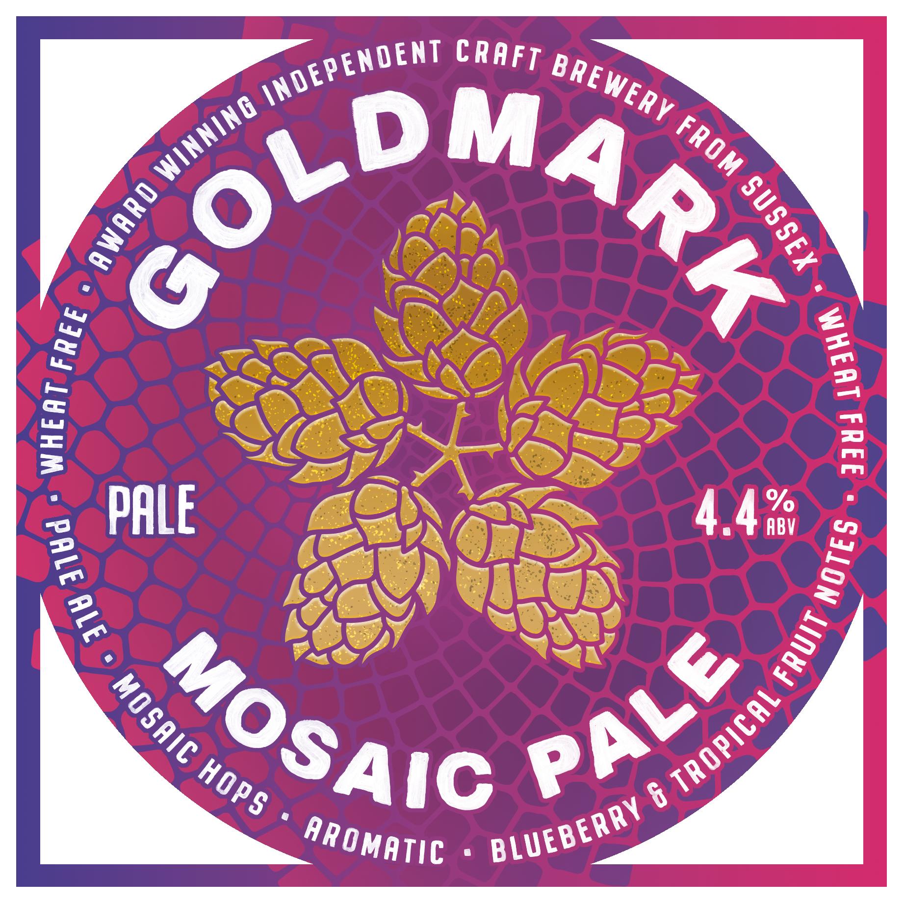 Goldmark Mosaic Pale Ale 4.4%