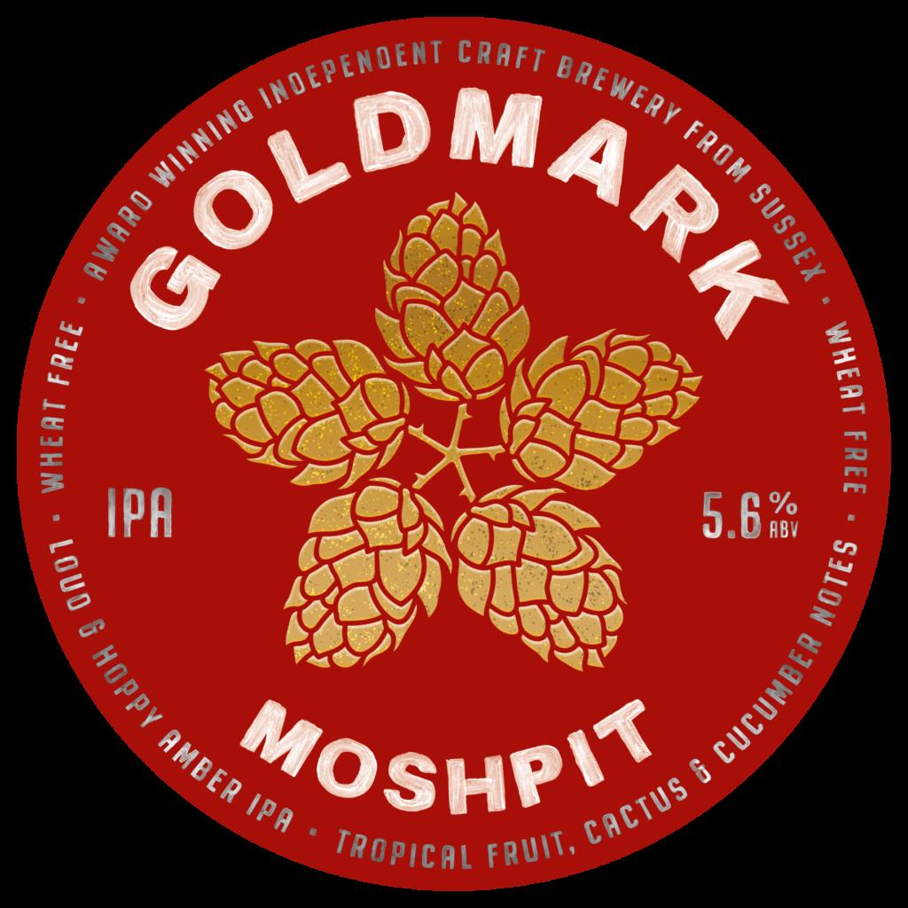 Goldmark Moshpit India Pale Ale 5.6%