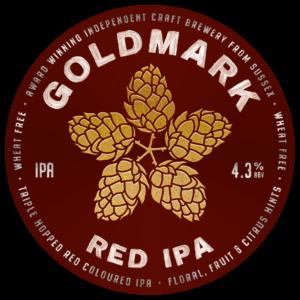 Goldmark Red IPA India Pale Ale 4.3%