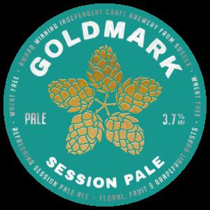 Goldmark Session Pale Ale 3.8%
