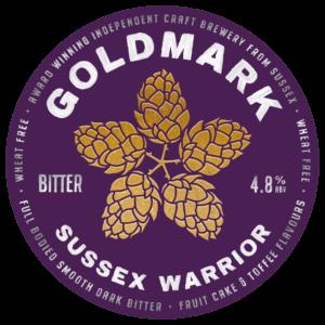 Goldmark Sussex Warrior Bitter 4.8%