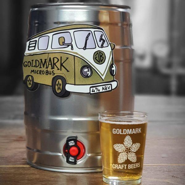 Goldmark Microbus Pale Ale Keg
